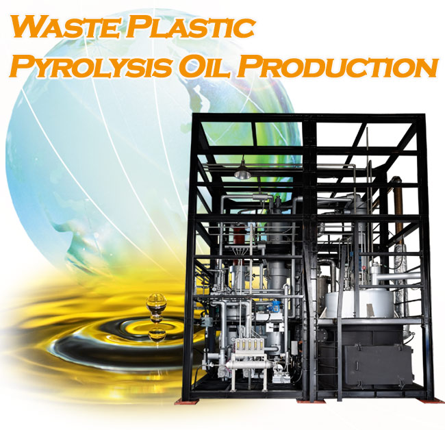 ECYCLE ENERGY CO , LTD  - CONTINUOUS WASTE PLASTIC CATALYTIC