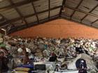 廃棄物処理施設を視察